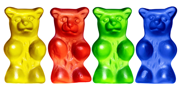 how to make a gummy bear grow