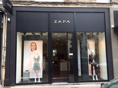 Zara-Zapa trademark infringement
