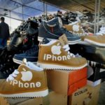 iPhone shoes