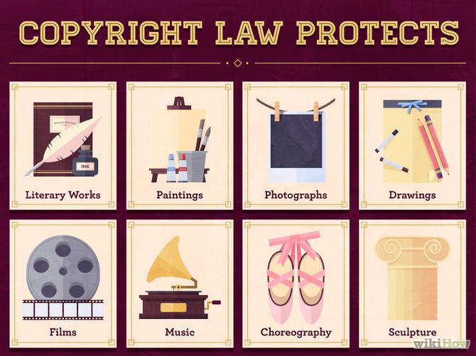 Copyright Step 1