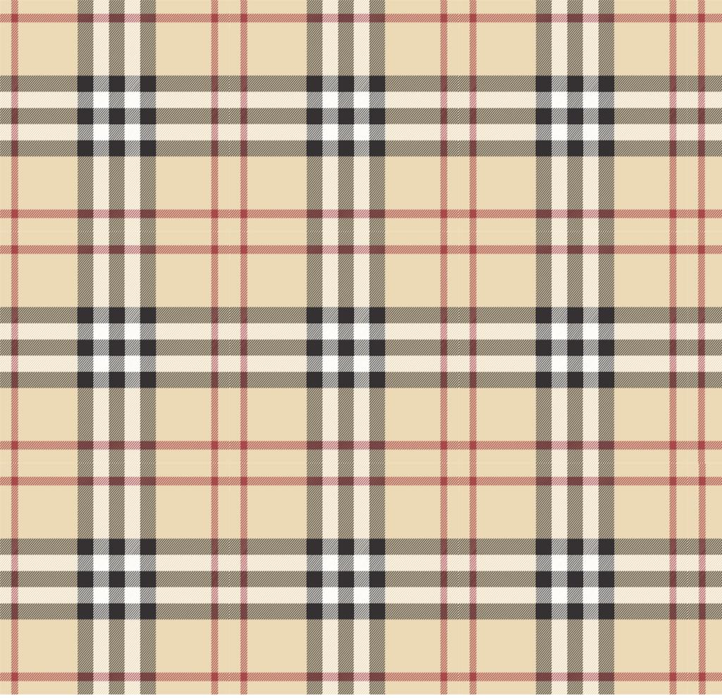 burberry check pattern