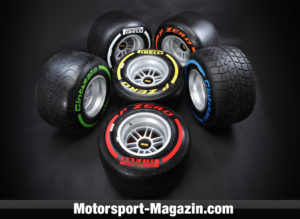 Pirelli's trademark, not on pole position
