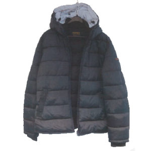 Blue jacket case