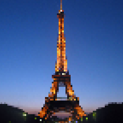 Why you can't take pictures of the Eiffel tower by night