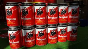 Jupiler beer rebrands during world cup