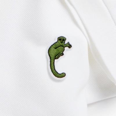 Lacoste replaces iconic crocodile logo