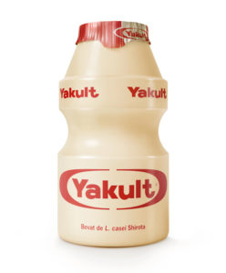 Yakult flushed away