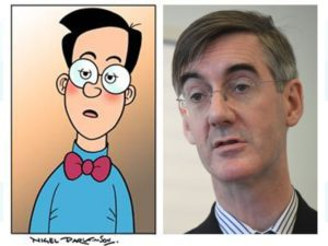 politician resembles comic character