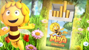 maya the smoking bee